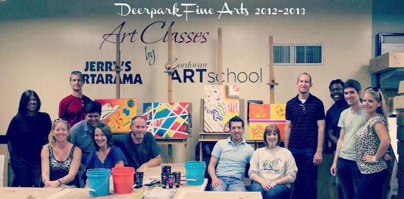 Fine arts team 12-13
